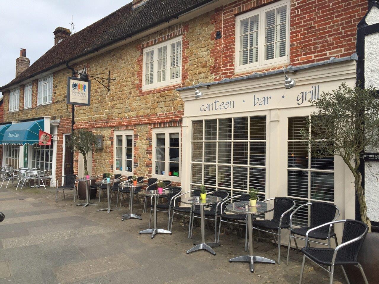 Seven fish canteen bar grill visit midhurst for Seven fishes menu