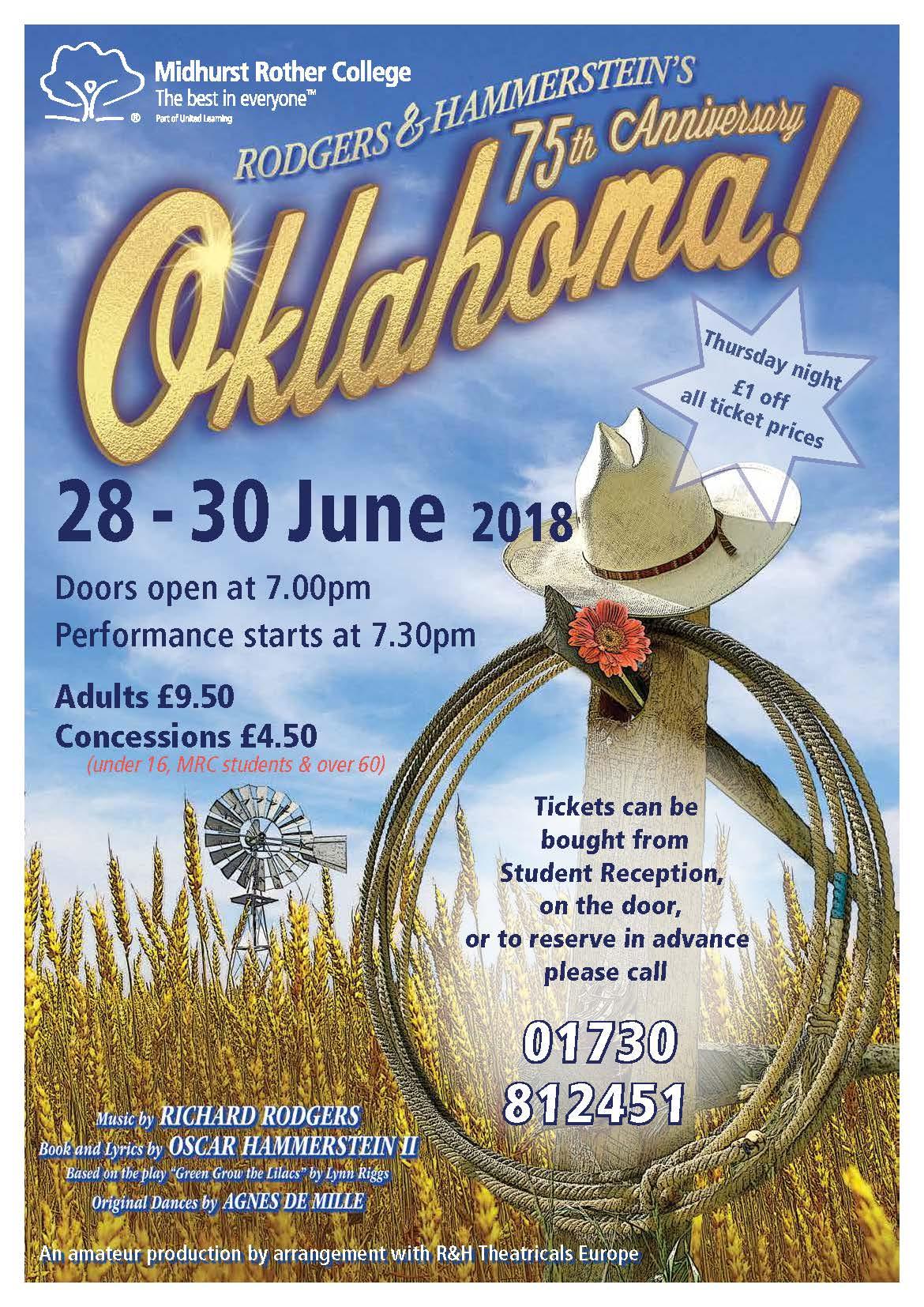 Oklahoma poster lo